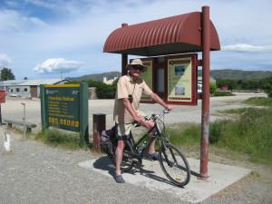 TRM bike on Otago Rail Trail
