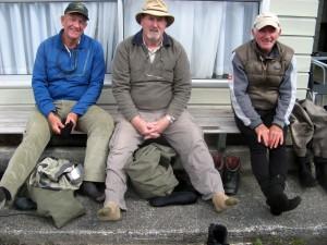 Barry Primmer, Peter West, Johnnie McDougal