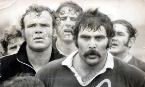 Keith Murdoch New Zealand All Black Rugby Union footballer being sent home from the 1972 Tour of Britain after a punch-up in a Cardiff hotel.