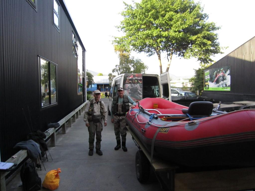 John Porteous & Paul Gandell RaftingNZ