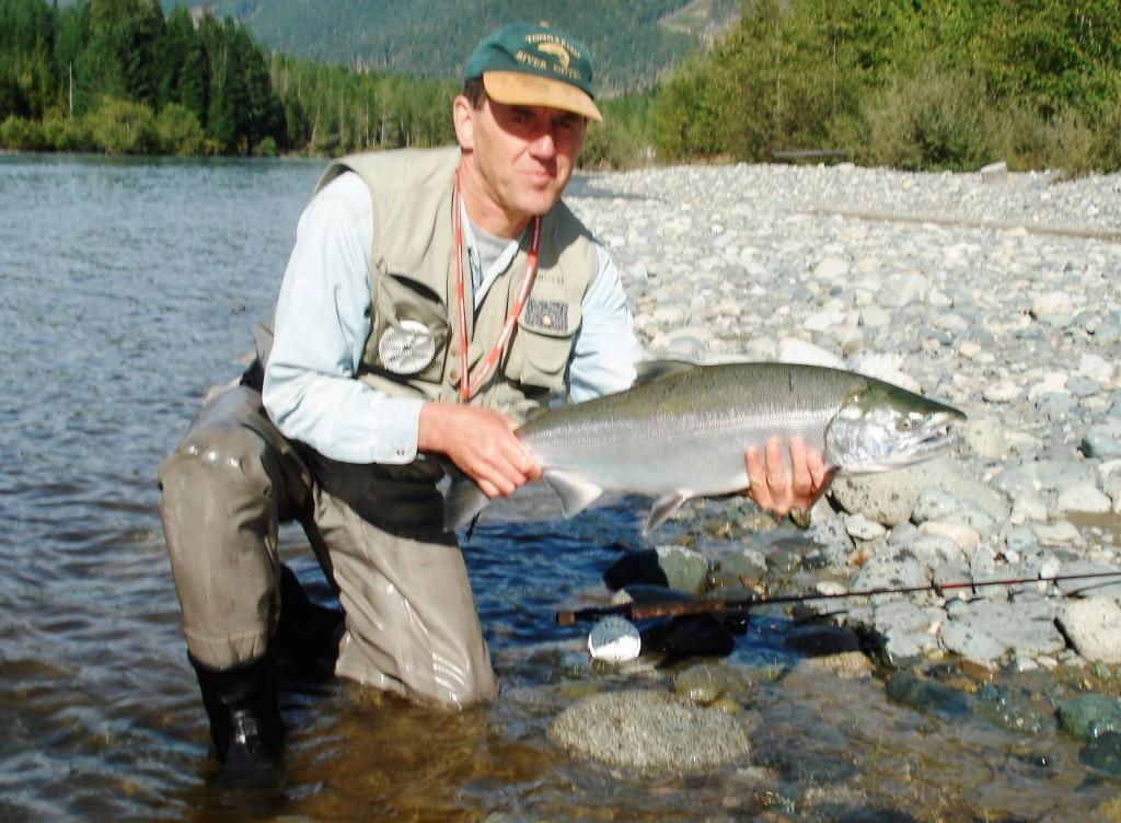 Salmon fishing in lake taupo tongariro river motel for Salmon fishing colorado