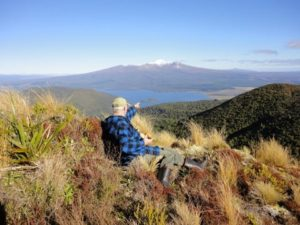 A world heritage area - Tongariro National Park