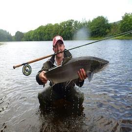 River Oich salmon