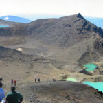 Tongariro Crossing Emerald alnd Blue Lakes