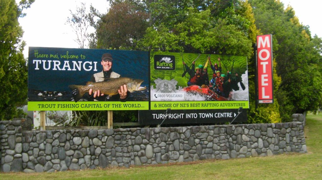 Welcome to Turangi