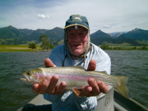 Jim on the Yellowstone River