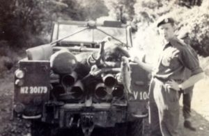 Oct 1966 Lt. Baker on Army weekend