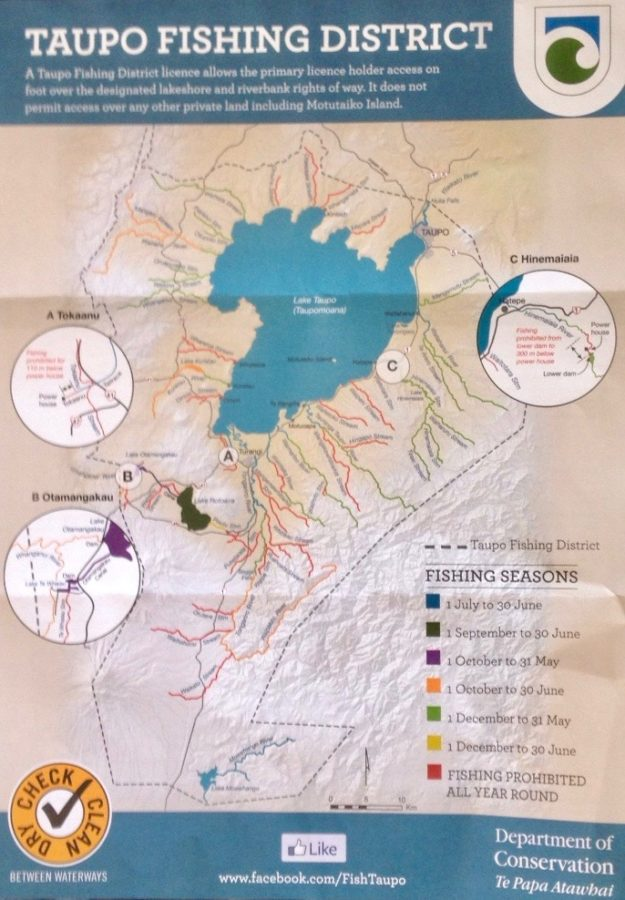 Anglers compare Fish & Game maps and services – Tongariro