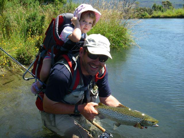 August 26 2017 tongariro river motel for Lake mathews fishing