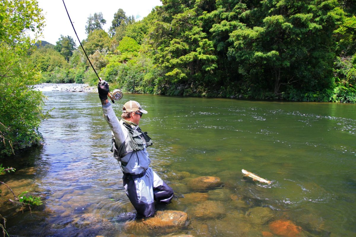Pure ecstasy discovered with TRM fishing guide – Tongariro ...